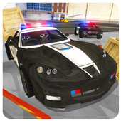 Police Car 3D : City Crime Chase Driving Simulator icon