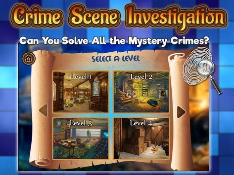 Crime Case Investigation Games screenshot 1