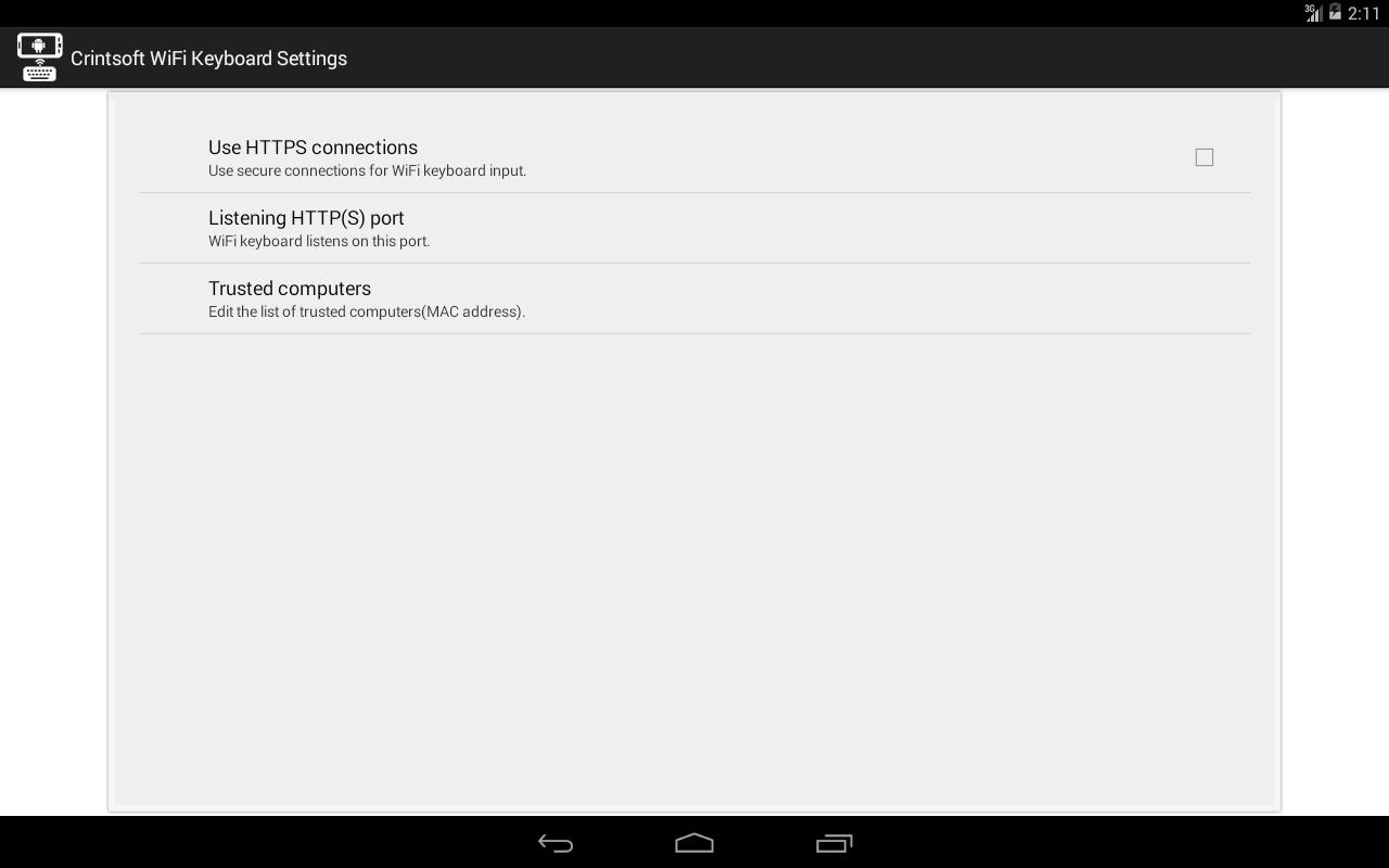 WiFi Keyboard for Android - APK Download