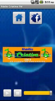 Rádio Criativa FM poster