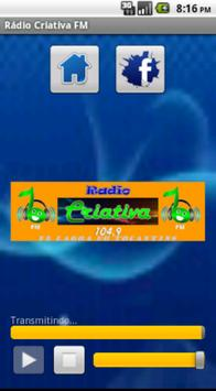 Rádio Criativa FM screenshot 1