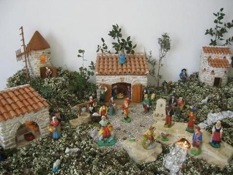 Christmas Crib Decoration Latest poster