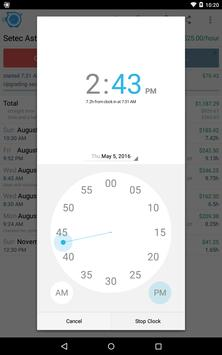HoursTracker: Time tracking for hourly work Screenshot 12