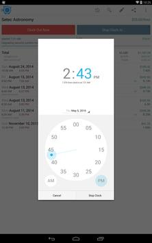 HoursTracker: Time tracking for hourly work 스크린샷 9