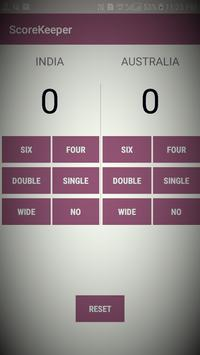 ScoreKeeper screenshot 1