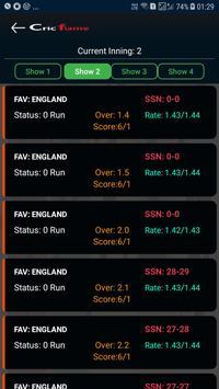 Cricket live line - Cricket Exchange - Cricflame screenshot 12