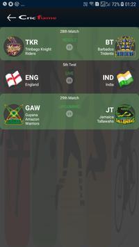 Cricket live line - Cricket Exchange - Cricflame screenshot 1