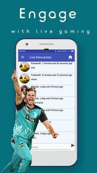 Cricbet - 2017 IPL Betting apk screenshot