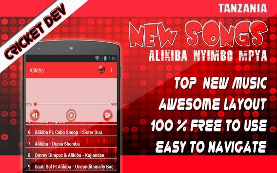 Alikiba Nyimbo Mpya - Maumivu Per Day poster