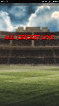 Cricket Live poster