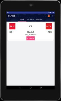 CricPRIZE - Play & Get Prizes apk screenshot