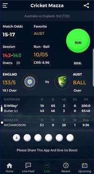 Cricket Mazza Live Line apk screenshot