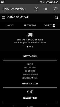 Aria Accesorios screenshot 2