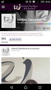 IZJ - Instituto de la Juventud screenshot 4