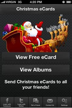 Ecards - Christmas eCards poster