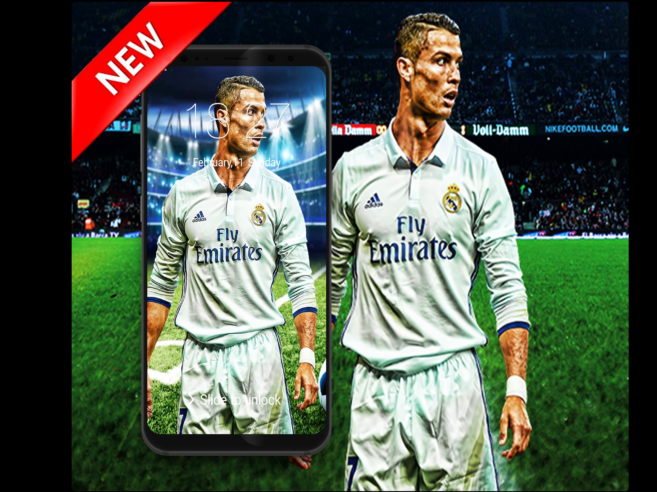 New Lock Screen for Cristaino Ronaldo RM poster