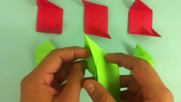 Como hacer Rosas de Origami apk screenshot