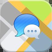 Map Messenger icon