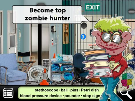 Hidden Object Games : Zombies Escape apk screenshot