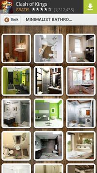 Minimalist Bathroom Design poster