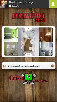 Minimalist Bathroom Design apk screenshot