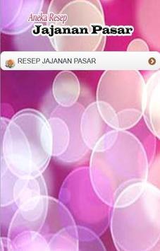 Aneka Resep Jajanan Pasar poster