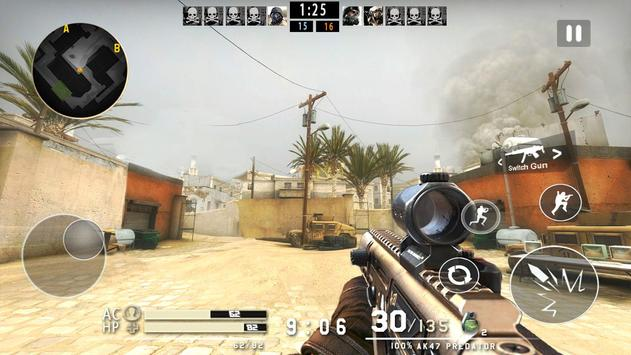 Critical Strike Shoot War - Frontline Fire screenshot 1