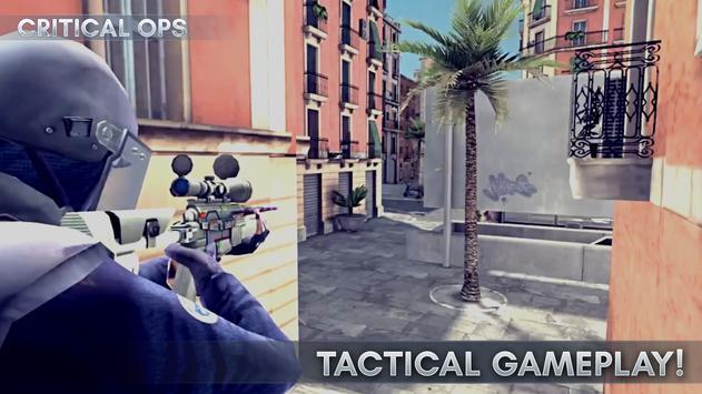 Critical Ops скриншот приложения