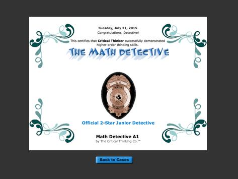 Math Detective® A1 (Free) screenshot 5