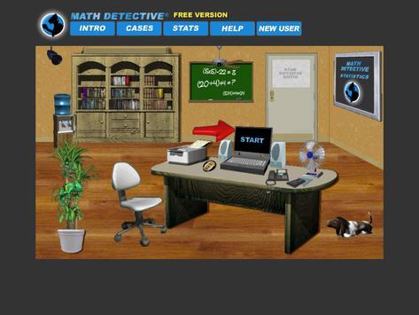 Math Detective® A1 (Free) screenshot 1