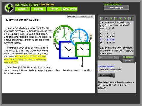 Math Detective® Beg. (Free) screenshot 3
