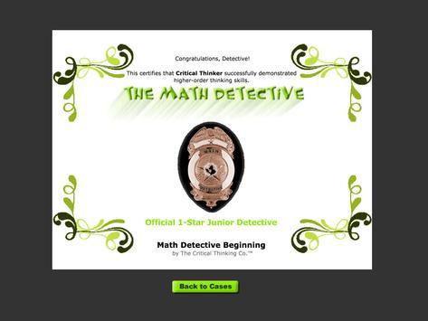 Math Detective® Beg. (Free) screenshot 11