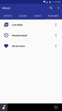 Mango Music Player apk screenshot