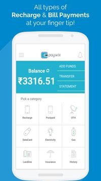 PAYWiX - B2B Recharge & Bills apk screenshot