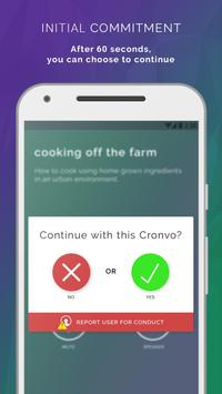 Cronvo screenshot 1