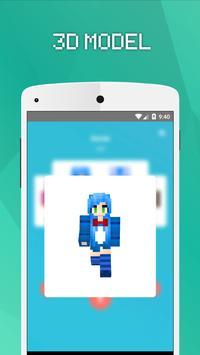 Skins Chicas Para Minecraft PE Descarga APK Gratis Herramientas - Skins para minecraft pe chicas