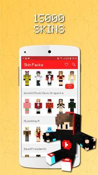 Skin Packs for Minecraft poster