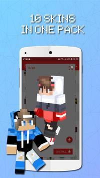 Skin Packs for Minecraft screenshot 4