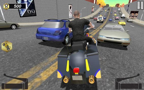 Traffic GT Bike Racer poster