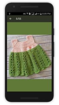 Crochet Baby Dress 2016 apk screenshot