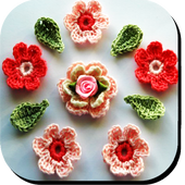 Crochet Flowers with patterns icon