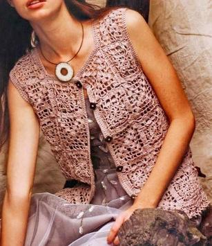 crochet women dresses poster