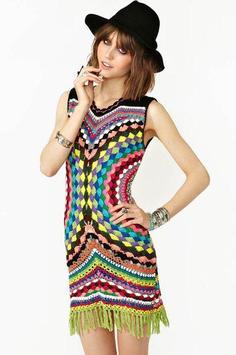 crochet women vests poster
