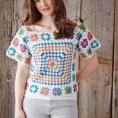 crochet sweater patterns icon