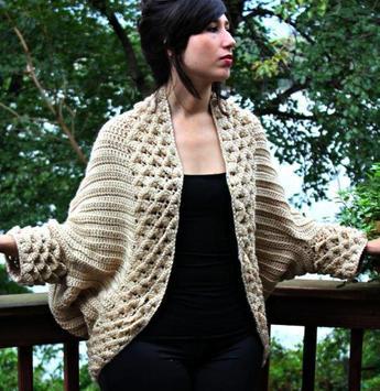 crochet sweater patterns apk screenshot