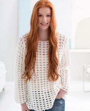 crochet sweater patterns screenshot 4