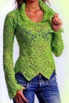crochet sweater patterns screenshot 5