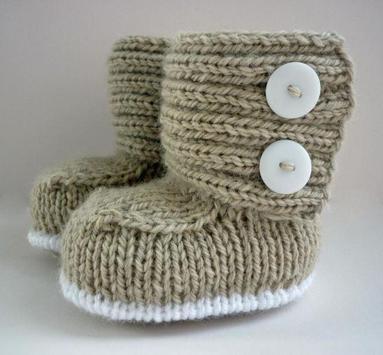 Crochet Baby Boots Ideas apk screenshot