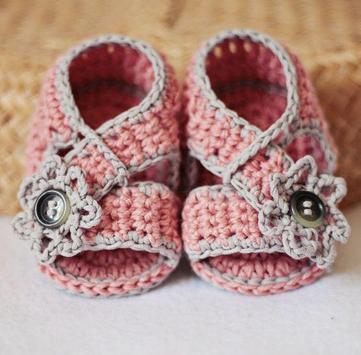 Crochet Baby Booties Designs screenshot 3