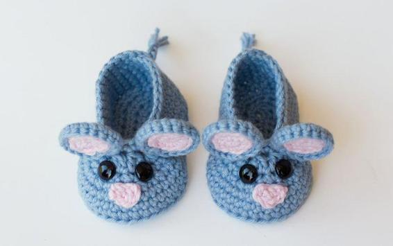 Crochet Baby Booties Designs screenshot 1